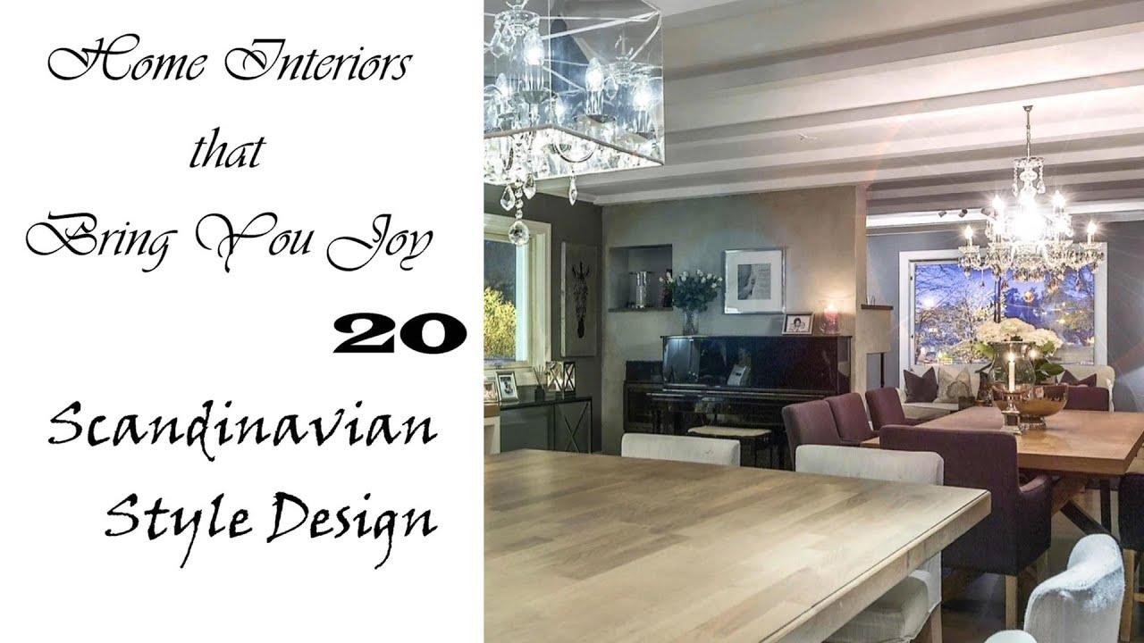 Beautiful Scandinavian Home Interiors that Bring You Joy
