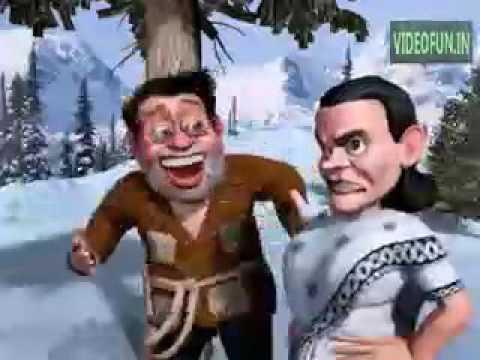 Narendra modi funny animated song
