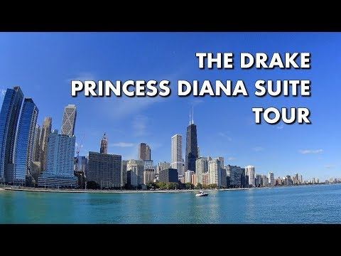 BEST LUXE HOTEL SUITE IN CHICAGO - Princess Diana Suite at The Drake