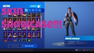 Fortnite Skin Showcase | Fortnite Battle Royale