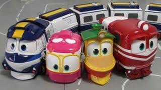 로봇트레인 기차 변신 장난감  Robot Trains Toys Transformation