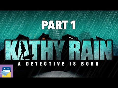 Kathy Rain: iOS iPad Air 2 Gameplay Walkthrough Part 1 (by Raw Fury & Noio)