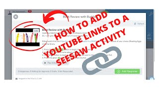 How to Add YouTube Links to a Seesaw Activity