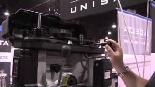 Delta 18-inch Drill Press - International Woodworking Fair 2010