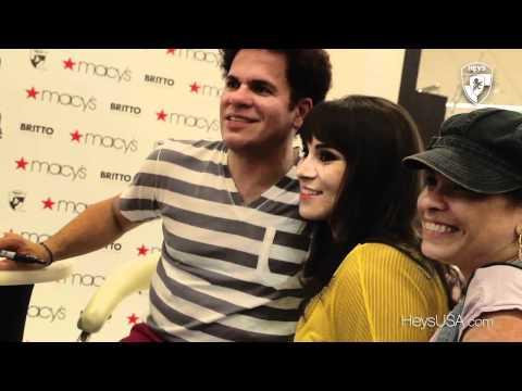 Heys USA Britto Signing at Macys Aventura Mall Miami
