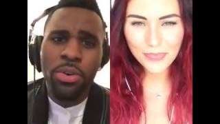 "Esra & Jason Derulo ""Want To Want Me"" Smule Duet"