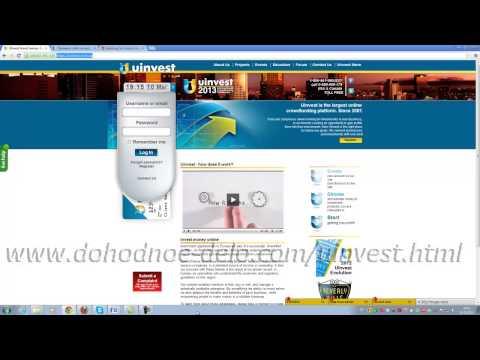 Uinvest: презентация инвестиционного фонда