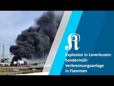 Explosion in Sondermüll-Verbrennungsanlage in Leverkusen