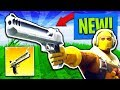 *NEW* HAND CANNON VICTORY GAMEPLAY in Fortnite: Battle Royale! (EPIC ENDING)