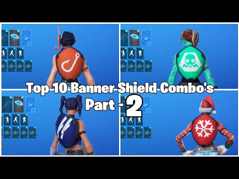 Top 10 Banner Shield Combo's!!! Part-2 (Skin Combos) #Fortnite #BlackKnight #SkinCombos #Top10