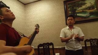 Ca sỹ Minh Tới và Guiar Quang Tuyến ca khúc Thời thanh niên sôi nổi (hát live)