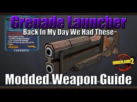 borderlands 2 rocket launcher