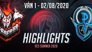 Highlights CES vs OPG [Ván 1][VCS 2020 Mùa Hè][02.08.2020]