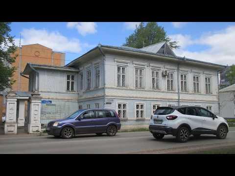 Улица Кирова. Глазов.