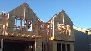 Как строится дом на западе США