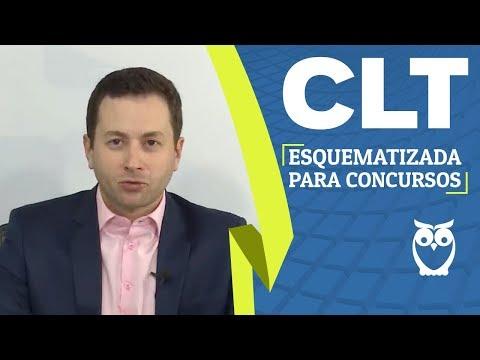CLT Esquematizada Gratuita para Concursos Públicos