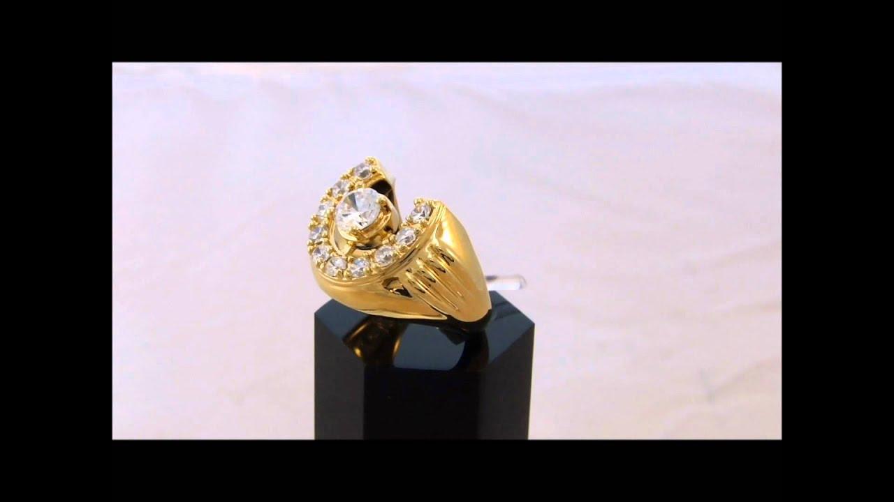 Elvis Horseshoe Wedding Ring