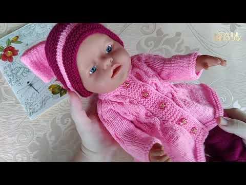 Вязаная одежда спицами на кукол