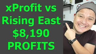 xProfit vs Rising East - $8,190 PROFITS in ONE SESSION - BinBot Pro 2,019!