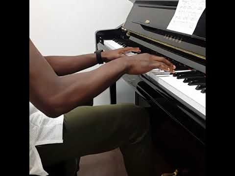 how to play bank account on piano