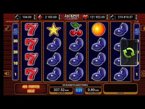 Aparate Slot Online 40 Super Hot Pe 2 Lei !