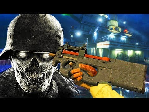 COD 4 CARGO SHIP ZOMBIES + FLAWLESS STREAK! (Call of Duty Black Ops 3 Custom Zombies)
