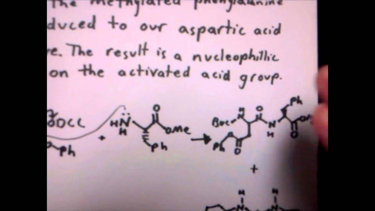 synthesis of aspartame youtube