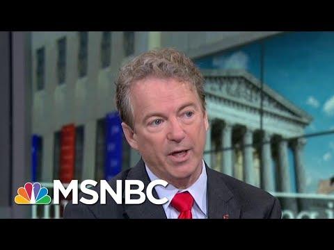 Senator Rand Paul: Judicial Power Needs To Check Police Power | Morning Joe | MSNBC
