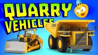 Kid's 3D Construction Cartoon : Vehicles Cartoon Compilation | Learning Construction Vehicles