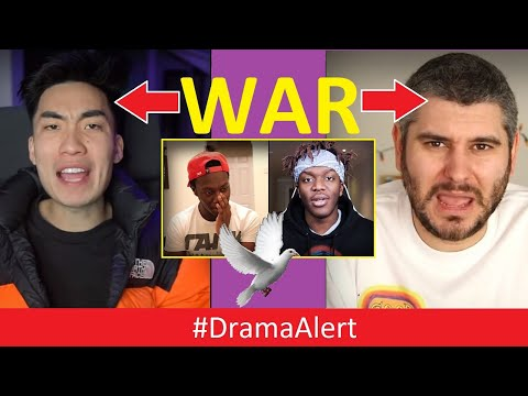 H3H3 & RiceGum are at WAR! #DramaAlert ( I called DEJI & KSI ) PewDiePie & Ninja WORLD RECORDS!