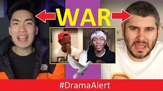 h3h3-ricegum-are-at-war-dramaalert-i-called-deji-ksi-pewdiepie-ninja-world-records