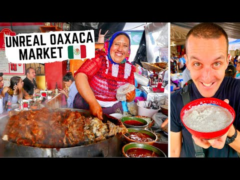 RARE MEXICAN STREET FOOD in Oaxaca + COOKING with the LOCALS in OAXACA, MEXICO