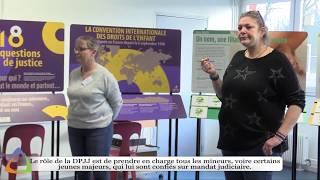 DPJJ : Direction de la Protection Judiciaire de la Jeunesse.
