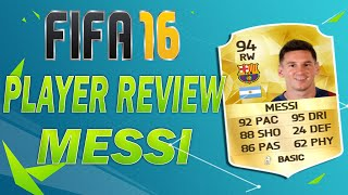 FIFA 16 PLAYER REVIEW - LIONEL MESSI (94) - ULTIMATE TEAM (DEUTSCH) - GAMEPLAY + INGAME STATS