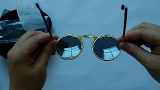 FOMO Flip Top Retro Quavo Style Sunglasses