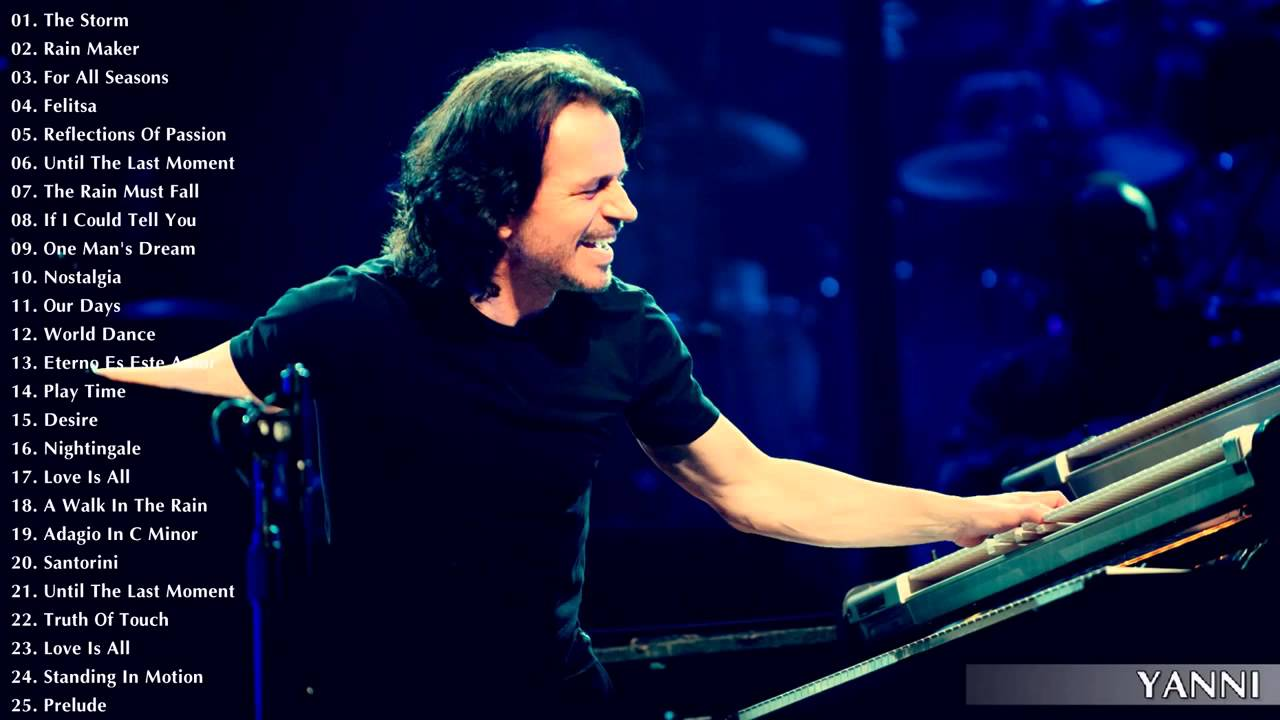 Yanni Greatest Hits The Best Of Yanni Best Instrument