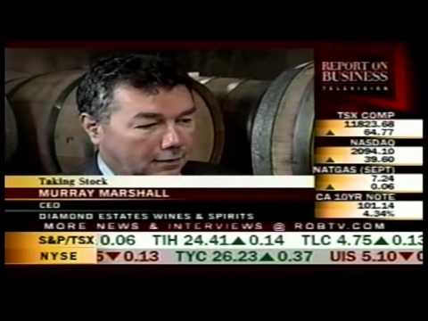 Murray Marshall, CEO Diamond Estate Wines & Spirits Field Interview - ROBTV (CTV)