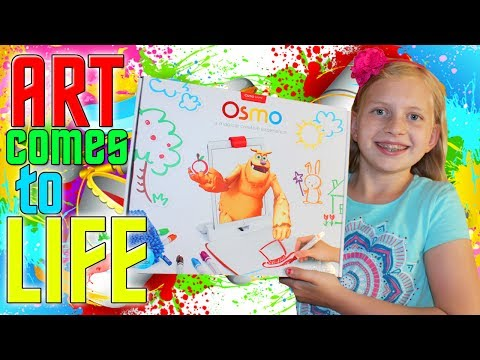 Download Youtube: Watch Art Come to Life!  Alyssa plays with Osmo!