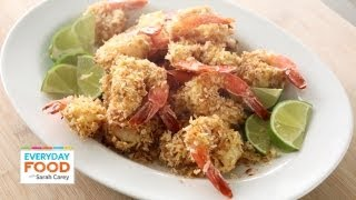 Coconut-Crusted Shrimp - Everyday Food with Sarah Carey