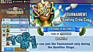 """ TOURNAMENT "" Qualifier Match Bowling Crew-3D bowling game screenshot 3"