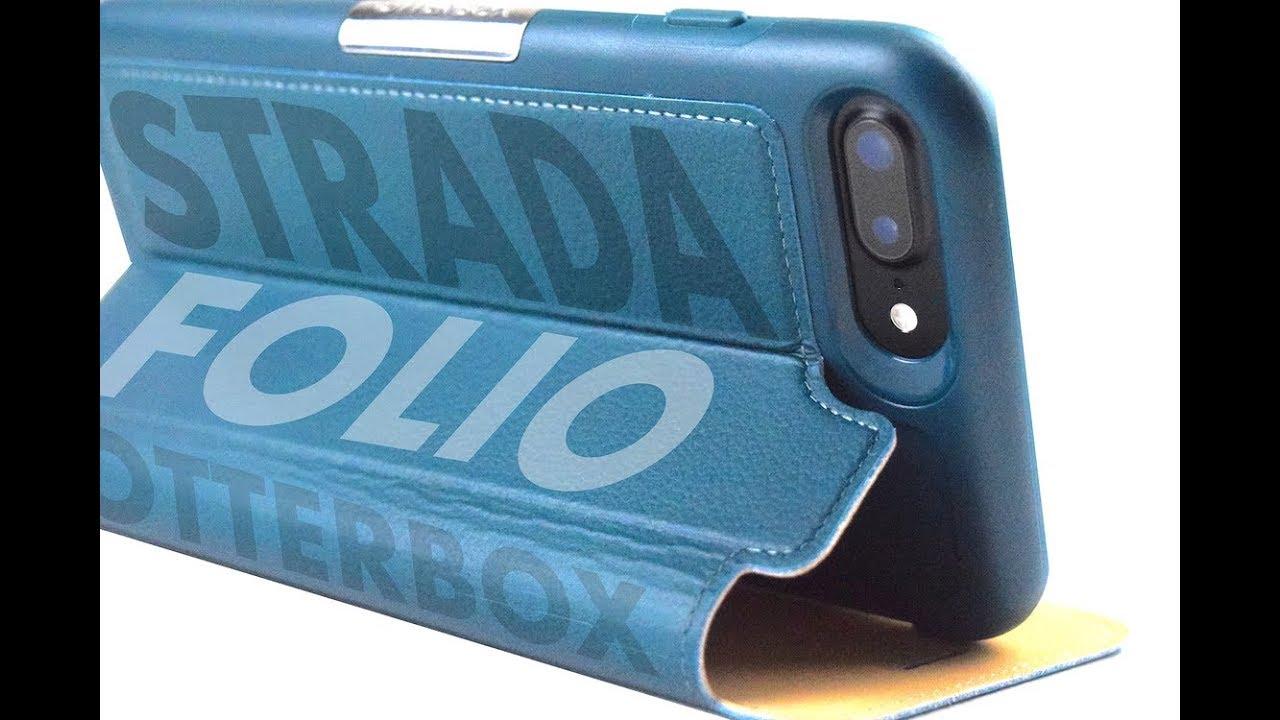 wholesale dealer 6c474 84816 OtterBox STRADA FOLIO Case - iPhone 7 Plus & iPhone 8 Plus - BEST FOLIO  CASE YET?