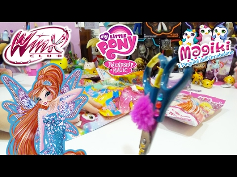 BLIND BAG WEEKEND! - Winx , Magiki , Crystal Wings & My Little Pony ! COSA VALE LA PENA COMPRARE?