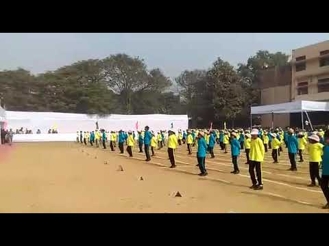 Drill presentation by Jamshedpur Public School 2017-18