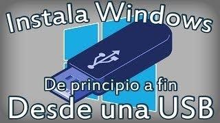 Instalar Windows 8.1 con USB desde cero