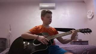 The Beatles видео урок игры на гитаре учим песню Let it be без Барре
