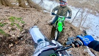 THIS PIT BIKE IS A DEATH TRAP...