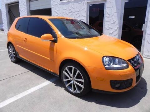 2007 Volkswagen GTI FAHRENHEIT EDITION FOR SALE - YouTube