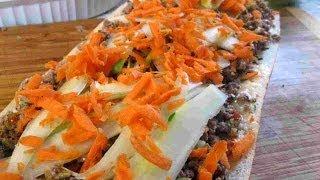 Asian Thai Beef Hoagie Recipe