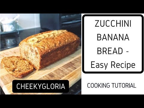 Whole-Wheat Zucchini Blueberry Bread
