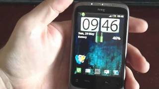 HTC Wildfire overview + dial pad/calculator tip